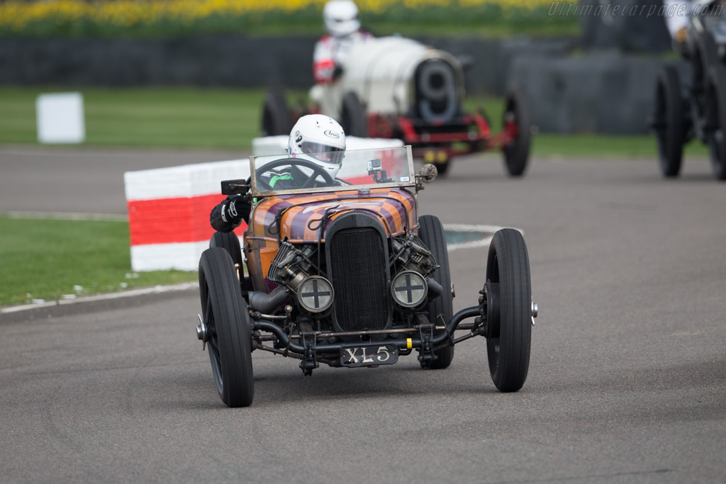 GN Curtiss  - Entrant: Duncan Pittaway - Driver: Patrick Blakeney-Edwards  - 2017 Goodwood Members' Meeting