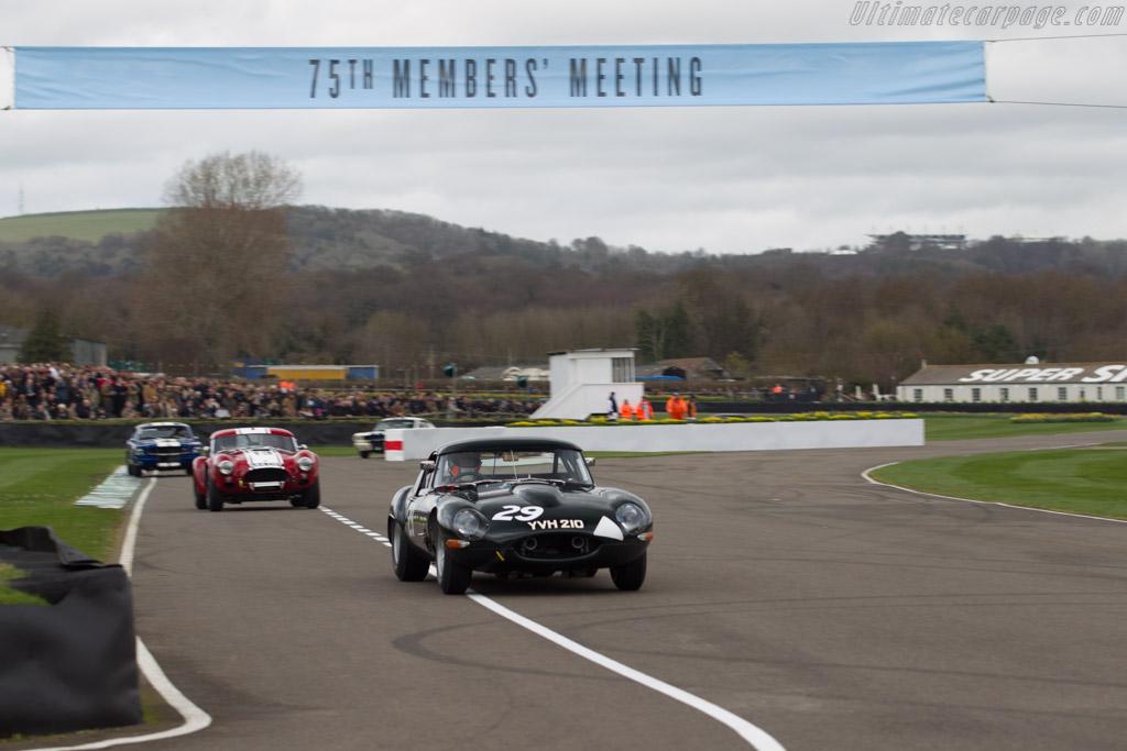 Jaguar E-Type Lighweight - Chassis: S850666 - Entrant: Alexander Rittweger - Driver: Sam Hancock / Alexander Rittweger  - 2017 Goodwood Members' Meeting