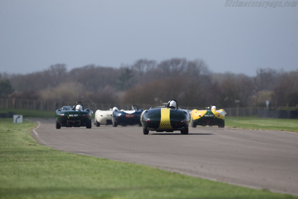 Lister Jaguar Costin - Chassis: BHL 2-59 - Entrant: Moray Motor Museum - Driver: Darren McWhirter  - 2017 Goodwood Members' Meeting
