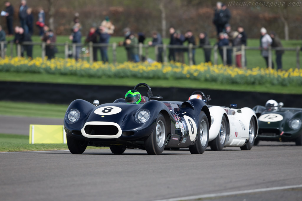 Lister Jaguar Knobbly - Chassis: BHL 117 - Entrant: Barry Wood - Driver: Martin Stretton  - 2017 Goodwood Members' Meeting