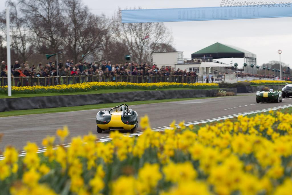 Lister Jaguar Knobbly  - Entrant: Jan Gijzen - Driver: Anthony Schrauwen  - 2017 Goodwood Members' Meeting