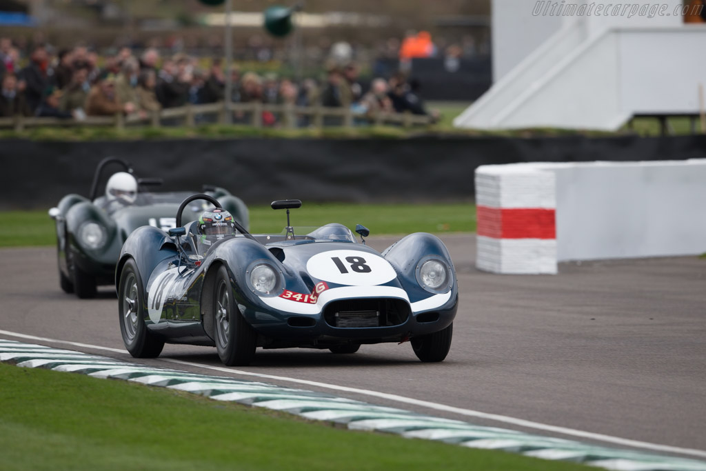 Lister Jaguar Knobbly - Chassis: BHL 104 - Entrant: Michael Tuke - Driver: Sam Thomas  - 2017 Goodwood Members' Meeting