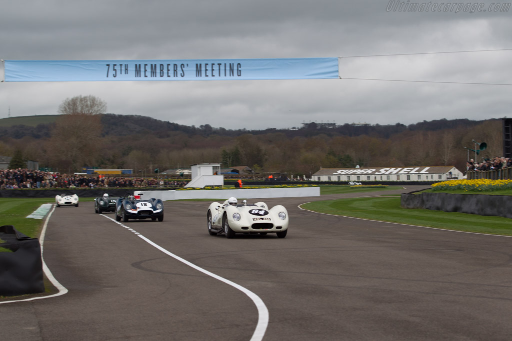Lister Jaguar Knobbly  - Driver: Mark Lewis  - 2017 Goodwood Members' Meeting