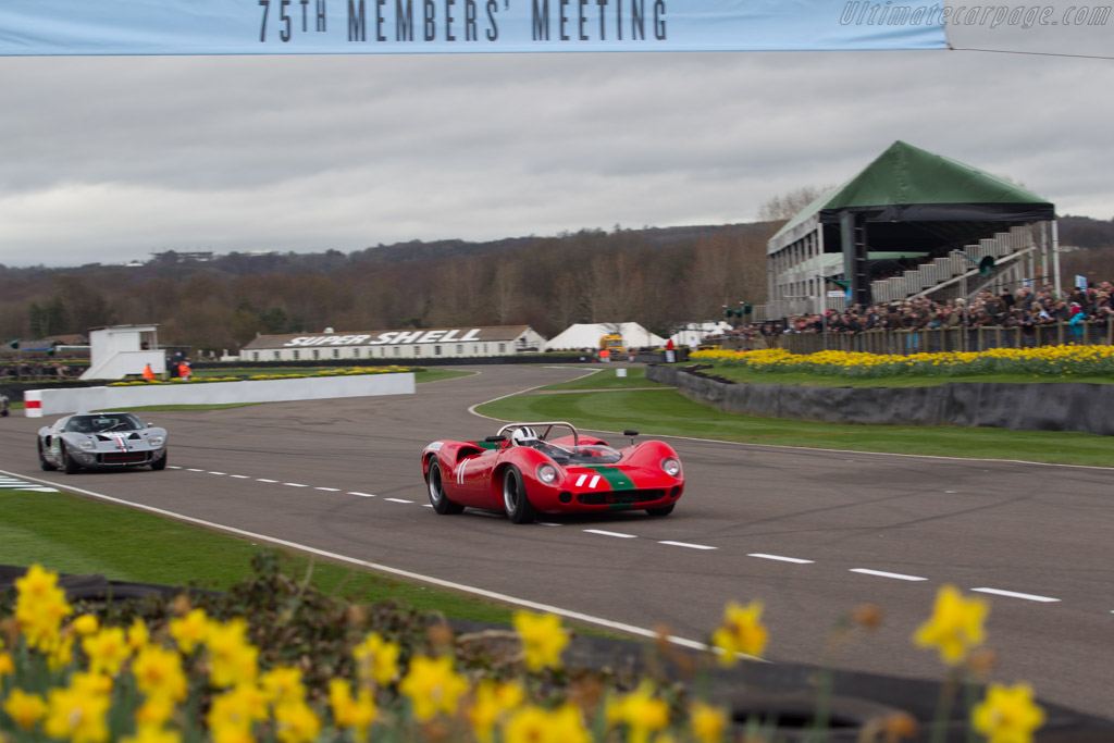 Lols T70 Mk1 - Chassis: SL70/1 - Entrant: Grant Reid - Driver: Tony Sinclair  - 2017 Goodwood Members' Meeting