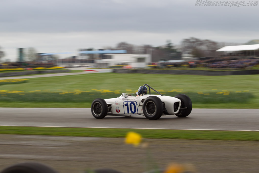 Lotus 18 Climax  - Entrant: Charles McCabe - Driver: Andy Middlehurst  - 2017 Goodwood Members' Meeting