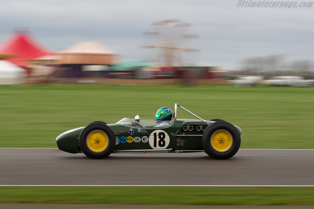 Lotus 18 Climax - Chassis: 372 - Entrant: John Chisholm - Driver: Sam Wilson  - 2017 Goodwood Members' Meeting