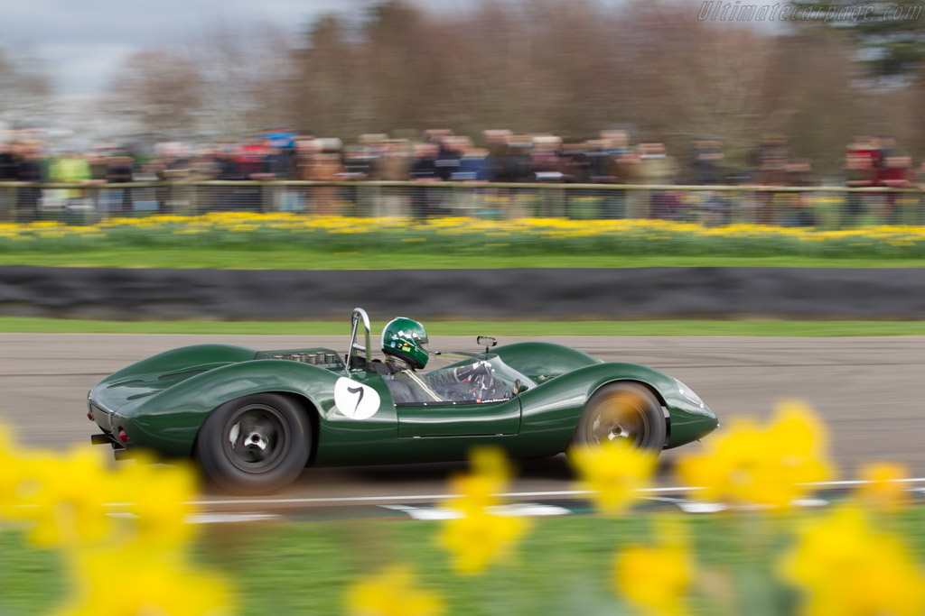 Lotus 30 Ford - Chassis: 30/L/7 - Driver: Anthony Schrauwen  - 2017 Goodwood Members' Meeting