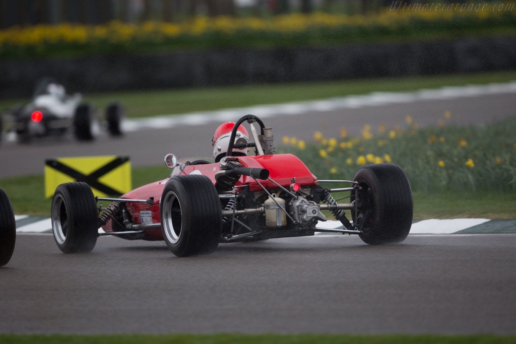 Lotus 31 Ford - Chassis: 22-F3-58 - Driver: Andrew Thorpe  - 2017 Goodwood Members' Meeting