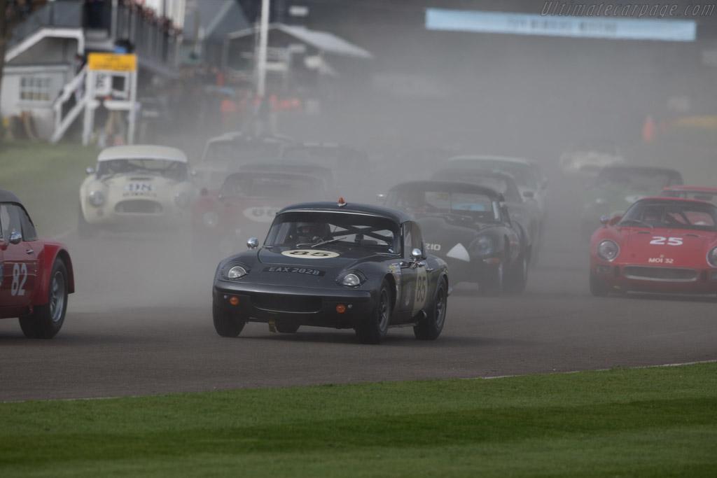 Lotus Elan 26R - Chassis: 26-R-9 - Entrant: Grant Tromans - Driver: Richard Meaden / Nicolas Padmore  - 2017 Goodwood Members' Meeting
