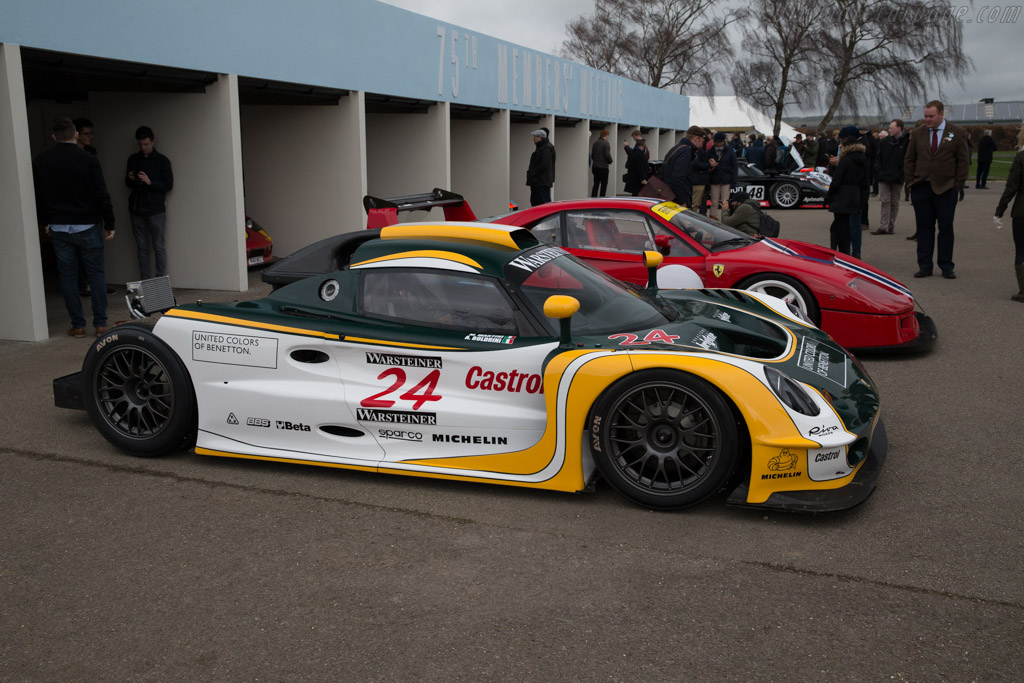Lotus Elise GT1 - Chassis: 005 - Entrant: Henrik Lindberg  - 2017 Goodwood Members' Meeting