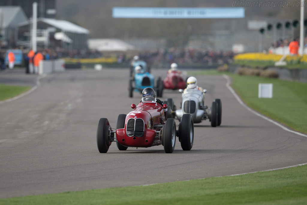 Maserati 6CM - Chassis: 1532 - Driver: Neil Perkins  - 2017 Goodwood Members' Meeting