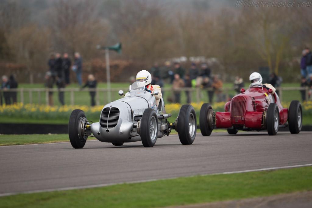 Maserati 6CM - Chassis: 1556 - Driver: Sean Danaher  - 2017 Goodwood Members' Meeting