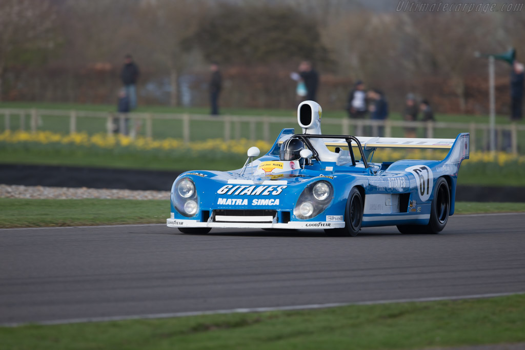 Matra MS670 - Chassis: MS670B-05 - Driver: Andy Willis  - 2017 Goodwood Members' Meeting