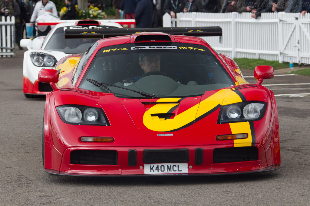 McLaren F1 GTR - Chassis: 10R - Driver: Nick Mason  - 2017 Goodwood Members' Meeting