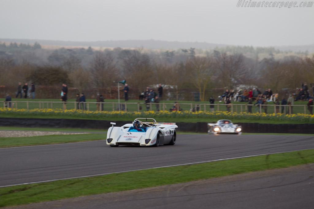McLaren M8C Cosworth - Chassis: 70-01 - Entrant: Marc Devis - Driver: Alain de Cadenet  - 2017 Goodwood Members' Meeting