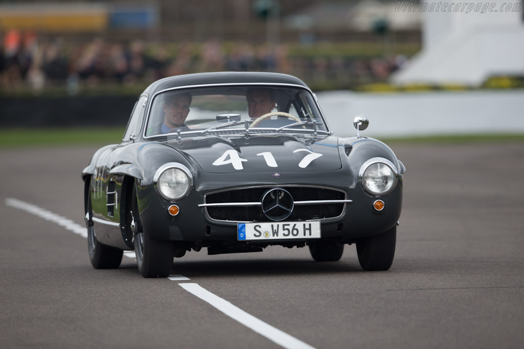 Mercedes-Benz 300 SL  - Driver: David Coulthard - 2017 Goodwood Members' Meeting