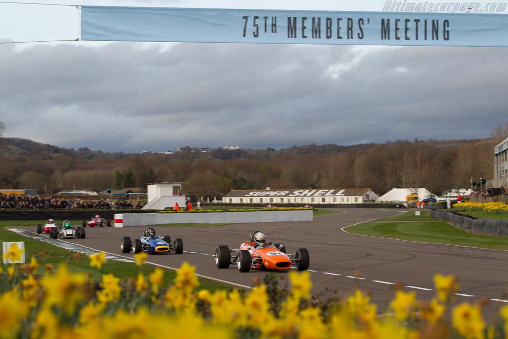 Merlyn Mk14 - Chassis: 208/F3/68 - Entrant: Stuart Hughes - Driver: Jonathon Hughes  - 2017 Goodwood Members' Meeting