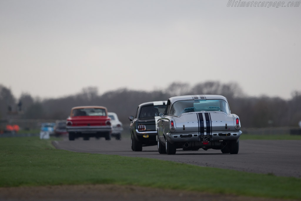 Plymouth Barracuda  - Driver: Oliver Bryant  - 2017 Goodwood Members' Meeting