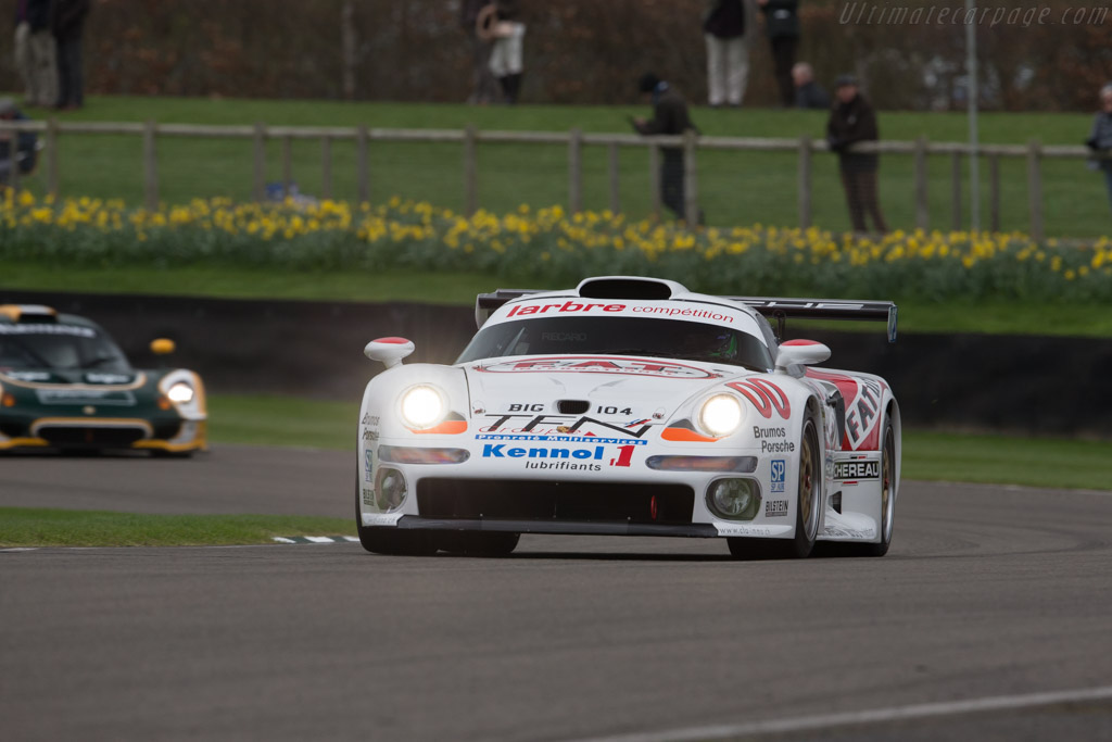 Porsche 911 GT1 - Chassis: 993-GT1-104 - Driver: James Littlejohn  - 2017 Goodwood Members' Meeting