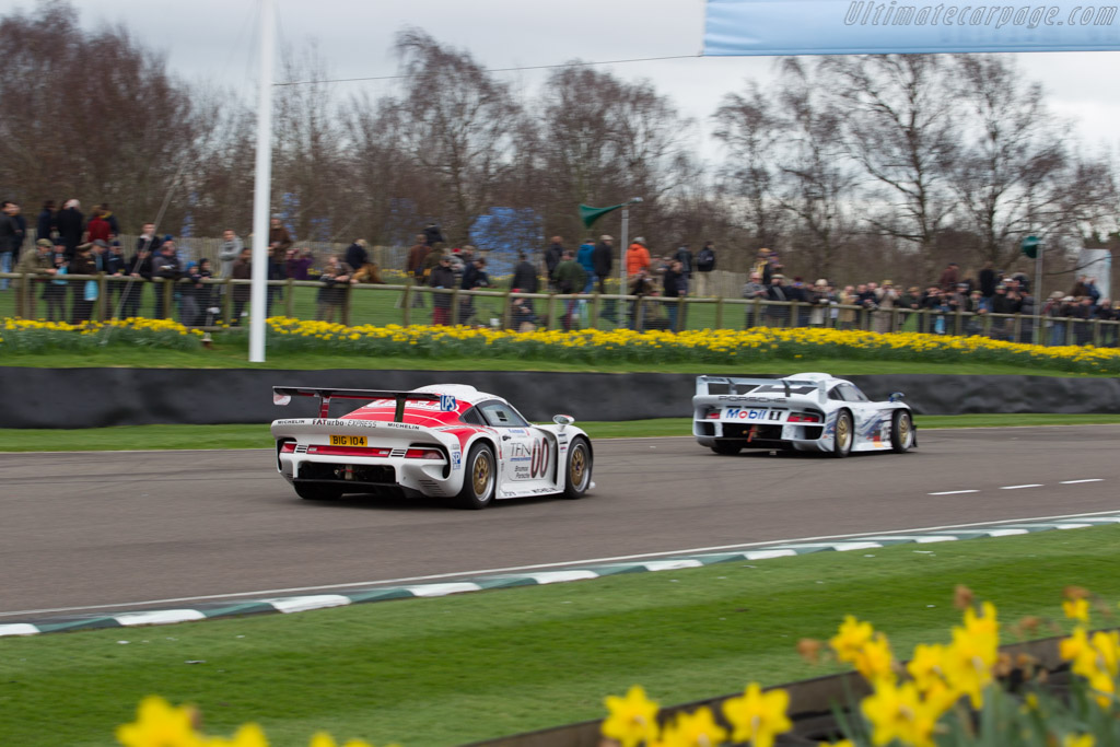 Porsche 911 GT1 - Chassis: 993-GT1-104 - Driver: Joe Twyman  - 2017 Goodwood Members' Meeting