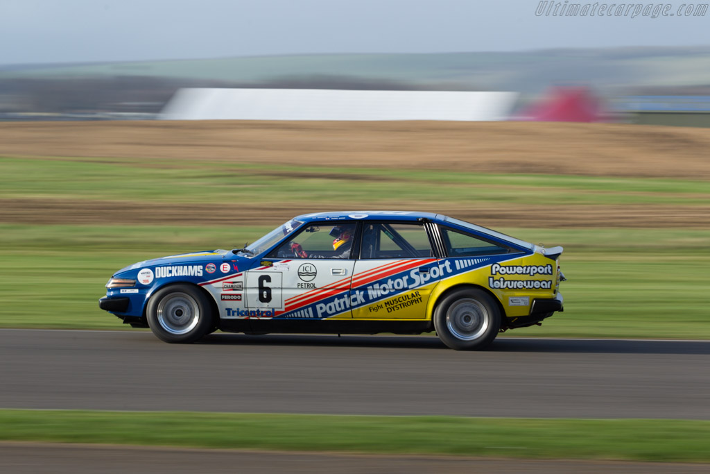 Rover SD1 - Chassis: SRG/PMG ? - Entrant: Derek Hood - Driver: Chris Ward  - 2017 Goodwood Members' Meeting