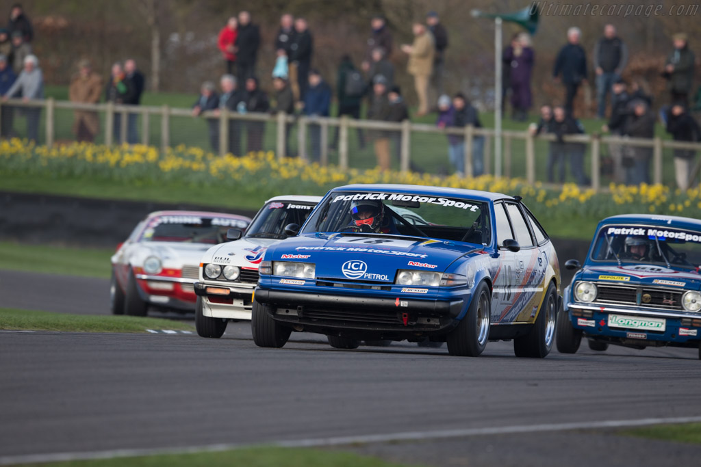 Rover SD1 - Chassis: SRG/PMG 3 - Entrant: Martin Thomas - Driver: Stuart Hall  - 2017 Goodwood Members' Meeting
