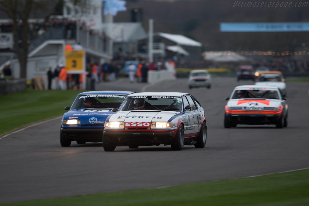 Rover SD1 - Chassis: 5 - Entrant: Peter Mallett - Driver: Tiff Needell / Peter Mallett  - 2017 Goodwood Members' Meeting