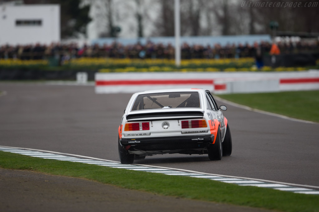 Rover SD1  - Entrant: Andrew Bruce - Driver: Tim Harvey / Andrew Bruce  - 2017 Goodwood Members' Meeting