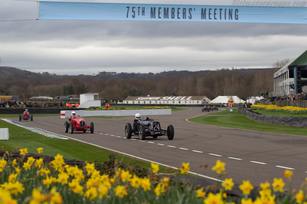 Talbot-Lago T23 - Chassis: 93240 - Driver: Marcus Black  - 2017 Goodwood Members' Meeting
