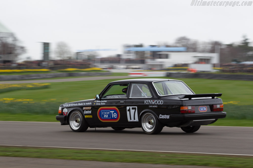 Volvo 240 Turbo - Chassis: TL2401 - Driver: Warren Heath  - 2017 Goodwood Members' Meeting