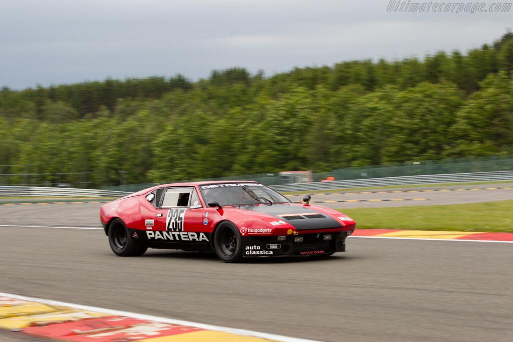 DeTomaso Pantera Group 4 - Chassis: 02858 - Driver: Pieter Boel  - 2015 Modena Trackdays