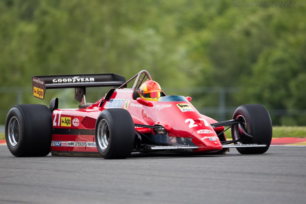 Ferrari 126 C2 - Chassis: 061 - Driver: Uwe Meisner  - 2015 Modena Trackdays