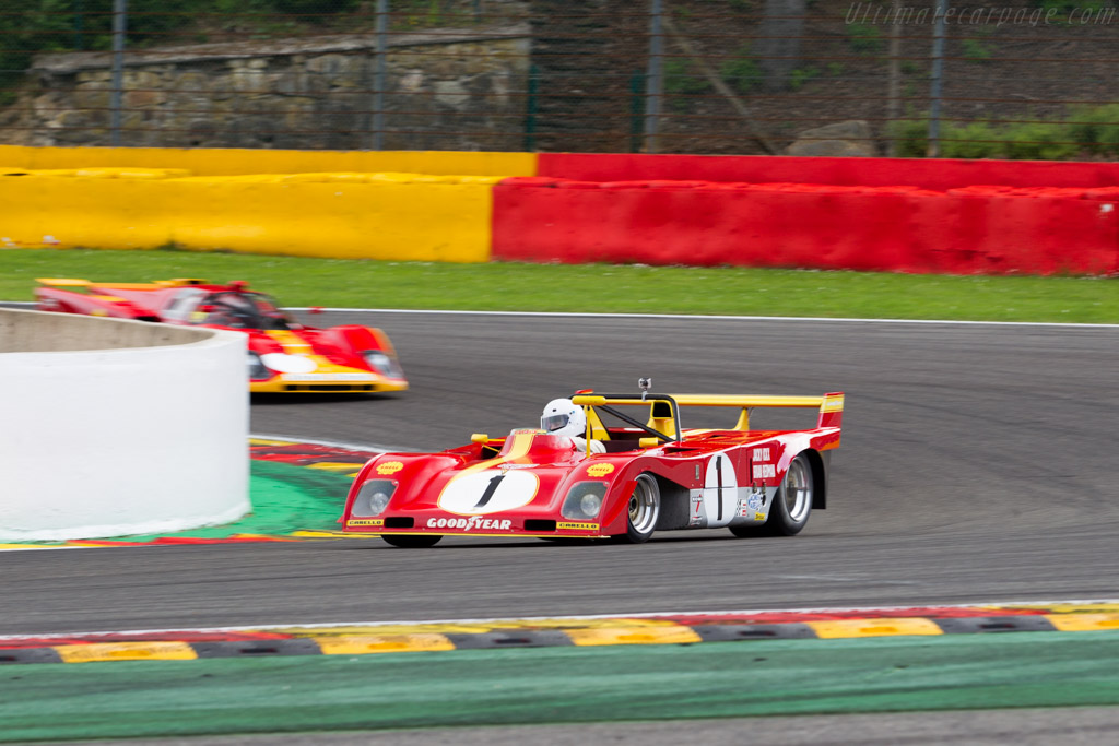 Ferrari 312 PB - Chassis: 0888 - Driver: Christoph Stieger  - 2015 Modena Trackdays
