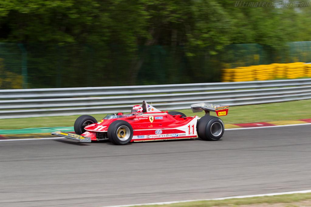Ferrari 312 T4 - Chassis: 038 - Driver: Patrick Stieger  - 2015 Modena Trackdays