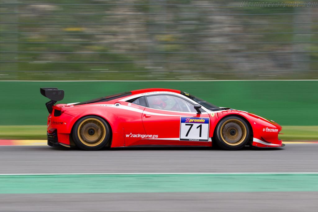 Ferrari 458 GT3    - 2015 Modena Trackdays