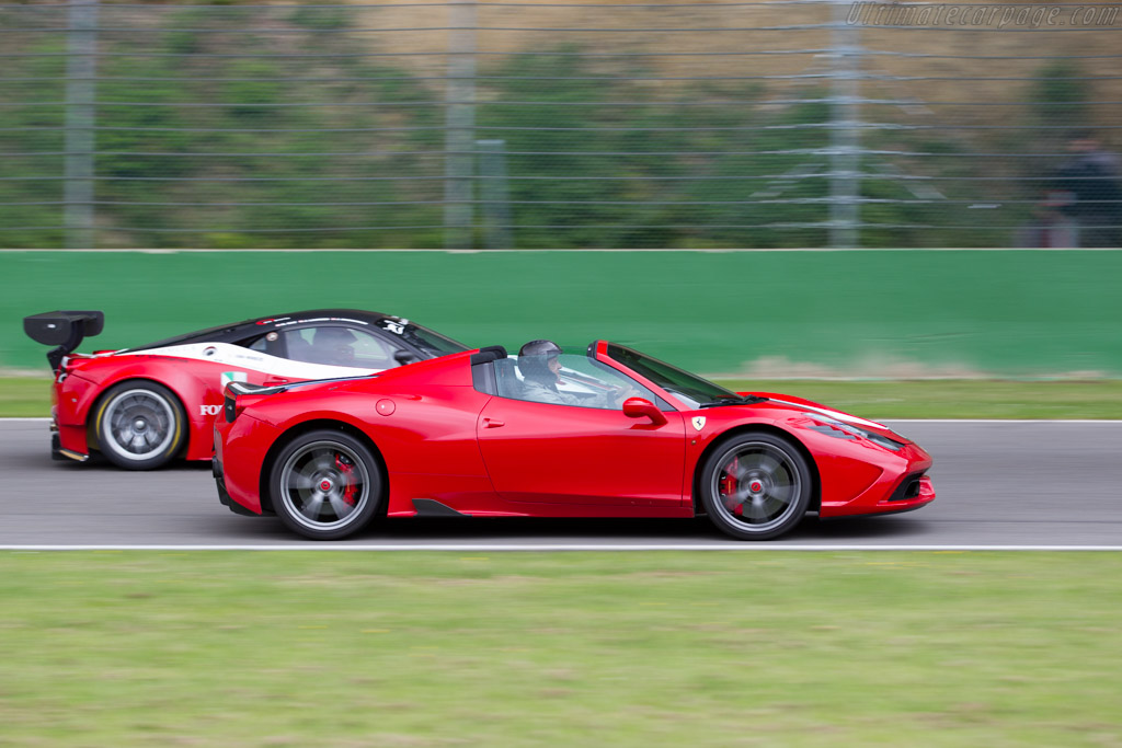 Ferrari 458 Speciale A   - 2015 Modena Trackdays
