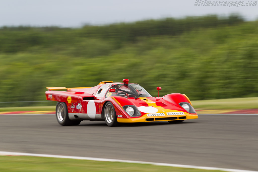 Ferrari 512 M - Chassis: 1018 - Driver: Patrick Stieger  - 2015 Modena Trackdays