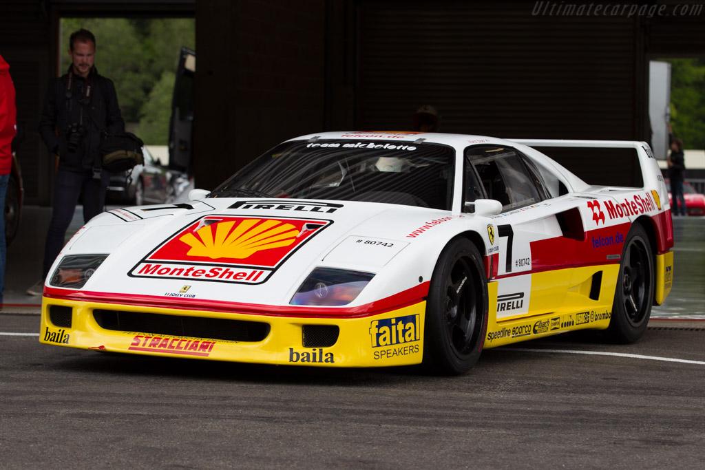 Ferrari F40 GT - Chassis: 80742   - 2015 Modena Trackdays