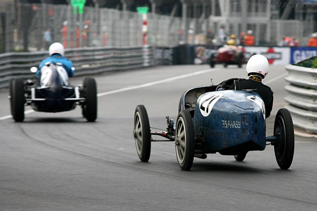 Bugatti 35 - Chassis: 4449 - Driver: Luc Slijpen  - 2006 Monaco Historic Grand Prix