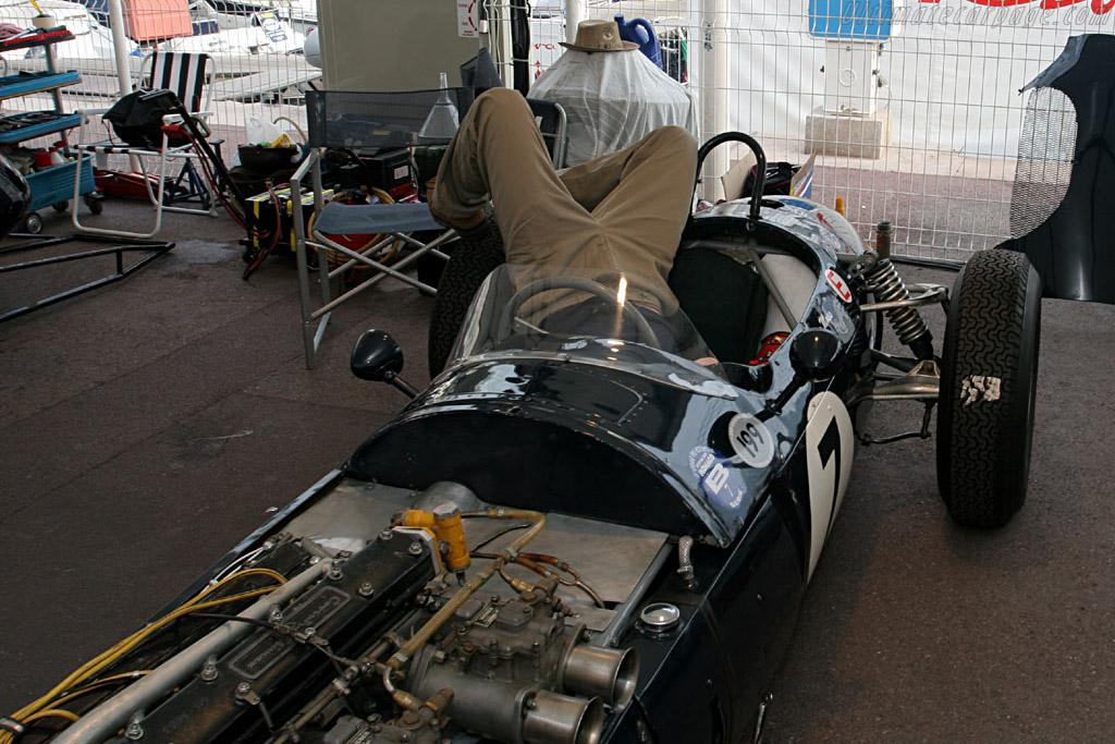 Desperately seeking the Ferguson's brakes    - 2006 Monaco Historic Grand Prix