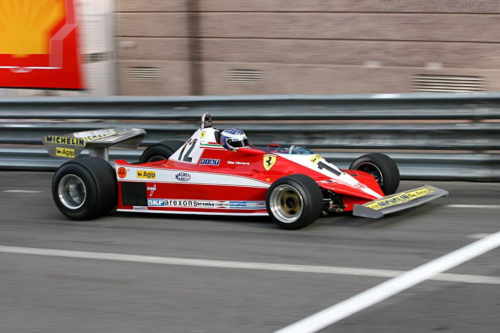 Ferrari 312 T3 - Chassis: 035 - Driver: John Bosch  - 2006 Monaco Historic Grand Prix