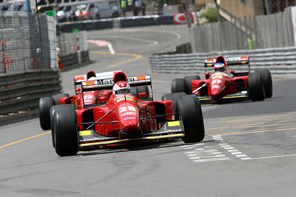 Ferrari 412 T1  - Driver: Roland Hachler  - 2006 Monaco Historic Grand Prix