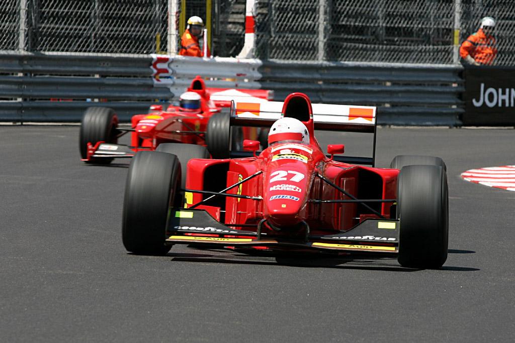 Ferrari 412 T1 - Chassis: 152 - Driver: Jonathan Ciener  - 2006 Monaco Historic Grand Prix
