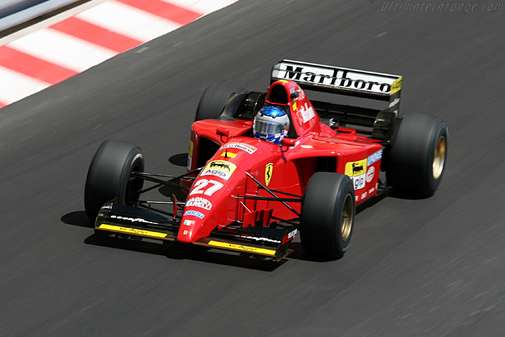 Ferrari 412 T2 - Chassis: 157   - 2006 Monaco Historic Grand Prix