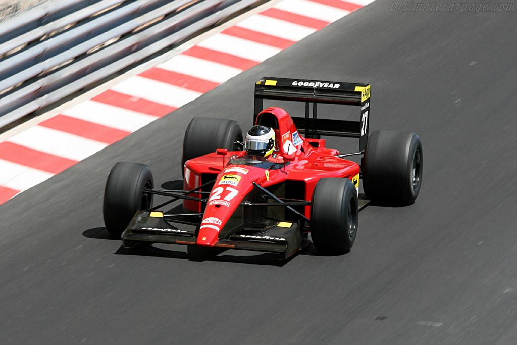 Ferrari 643 - Chassis: 128   - 2006 Monaco Historic Grand Prix