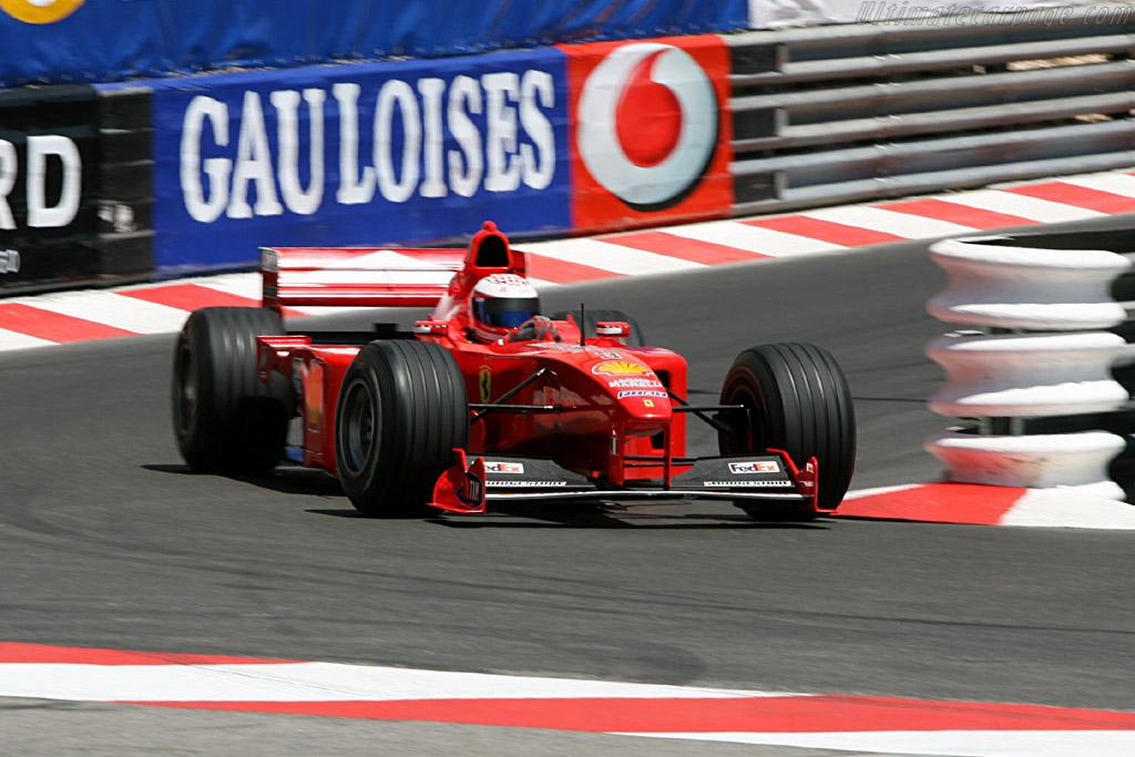 Ferrari F399  - Driver: Pierre Schroeder  - 2006 Monaco Historic Grand Prix