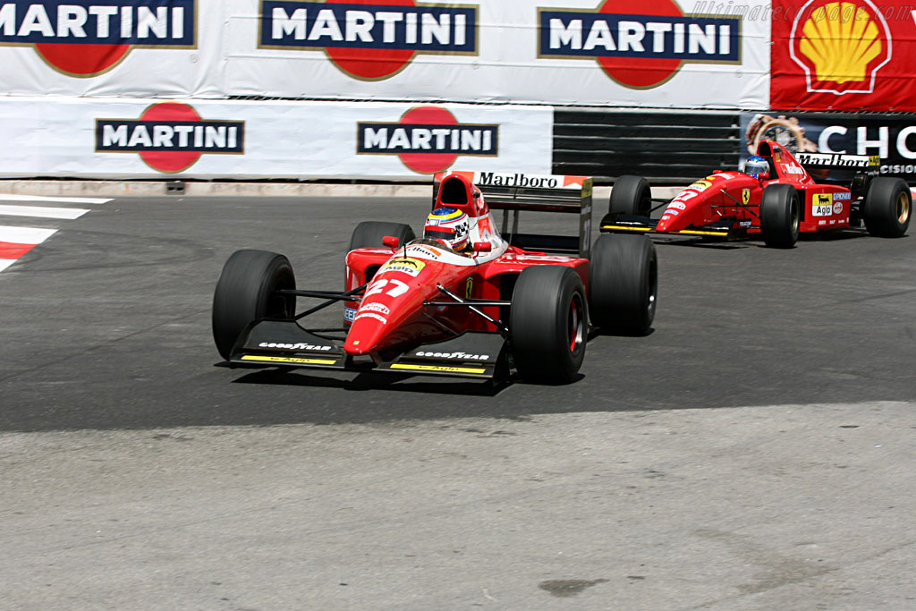 Ferrari F93A    - 2006 Monaco Historic Grand Prix