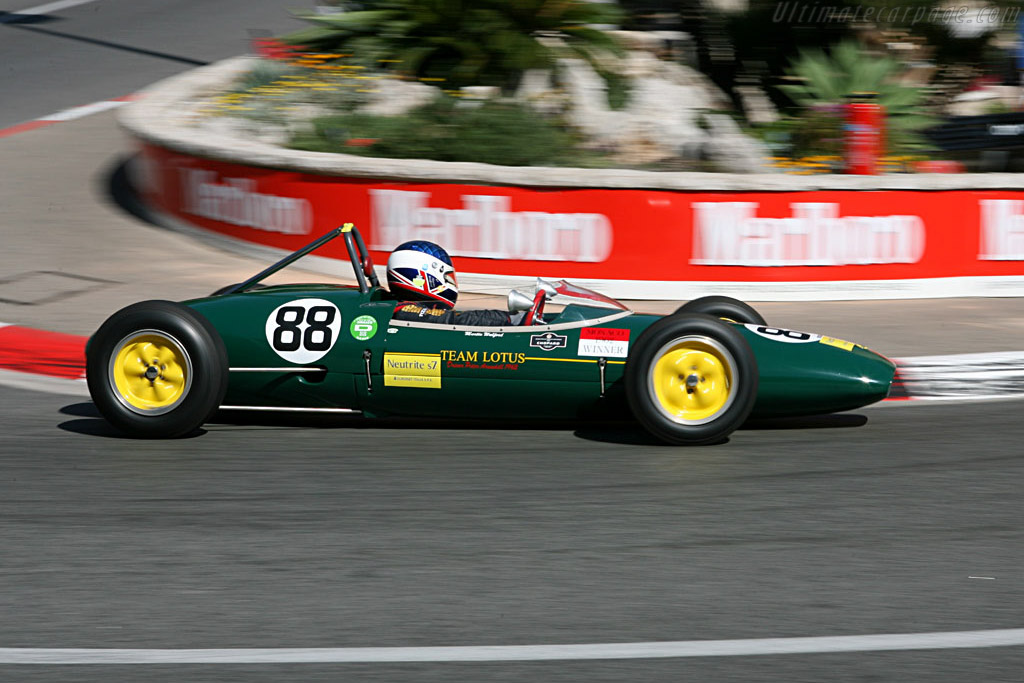Lotus 22    - 2006 Monaco Historic Grand Prix