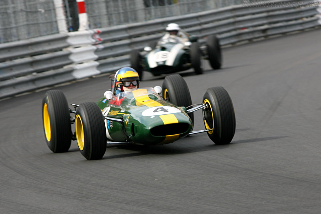 Lotus 33 - Chassis: R10 - Driver: Robs Lamplough  - 2006 Monaco Historic Grand Prix