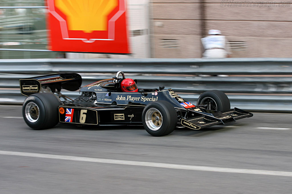 Lotus 77 - Chassis: JPS12   - 2006 Monaco Historic Grand Prix